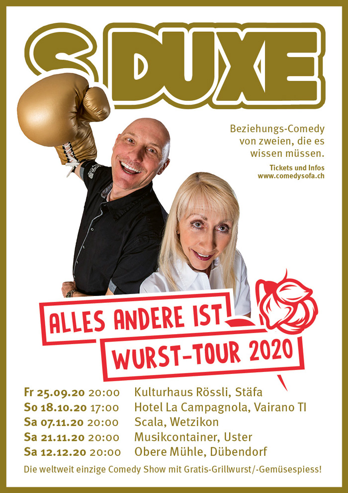 Flyer Wurst Tour 2020